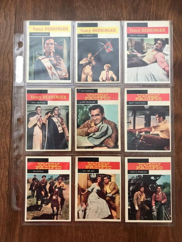 1958 Topps TV Westerns Complete Card Set of 71 - ExMt to NM