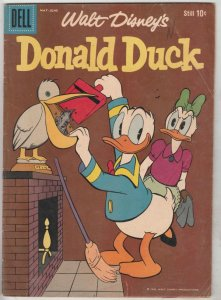 Donald Duck #65 (May-59) FN- Mid-Grade Donald Duck