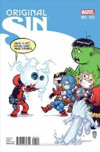 Original Sin (Marvel) #1A VF/NM; Marvel | save on shipping - details inside