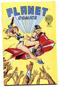 Planet #1 1988 Dave Stevens GGA cover-comic book-NM-