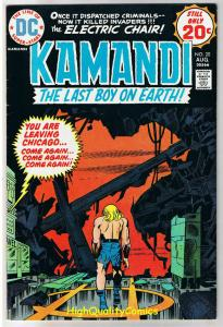KAMANDI #20, VF, Jack Kirby, Last Boy on Earth, 1972, more JK in store