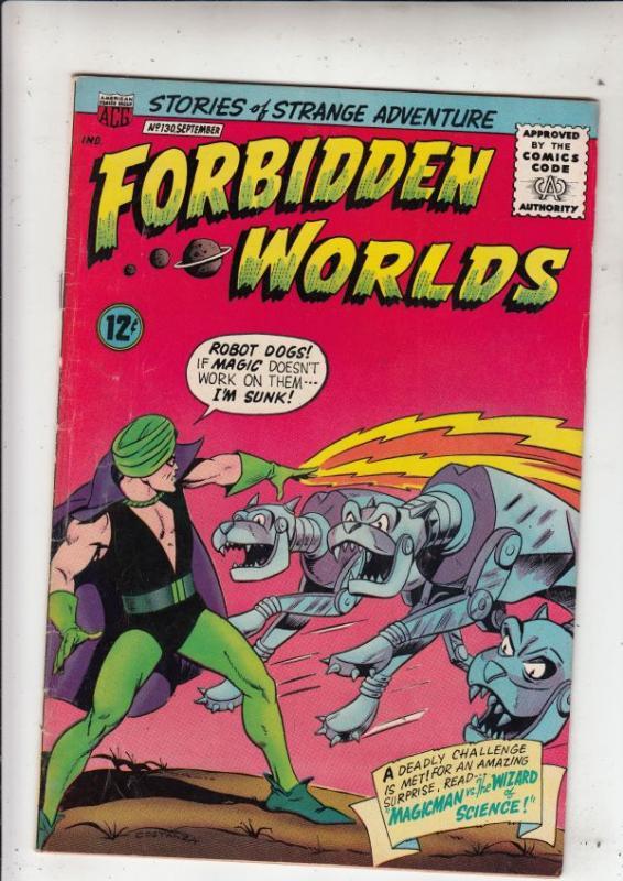 Forbidden Worlds #130 (Sep-65) FN/VF+ High-Grade Magicman