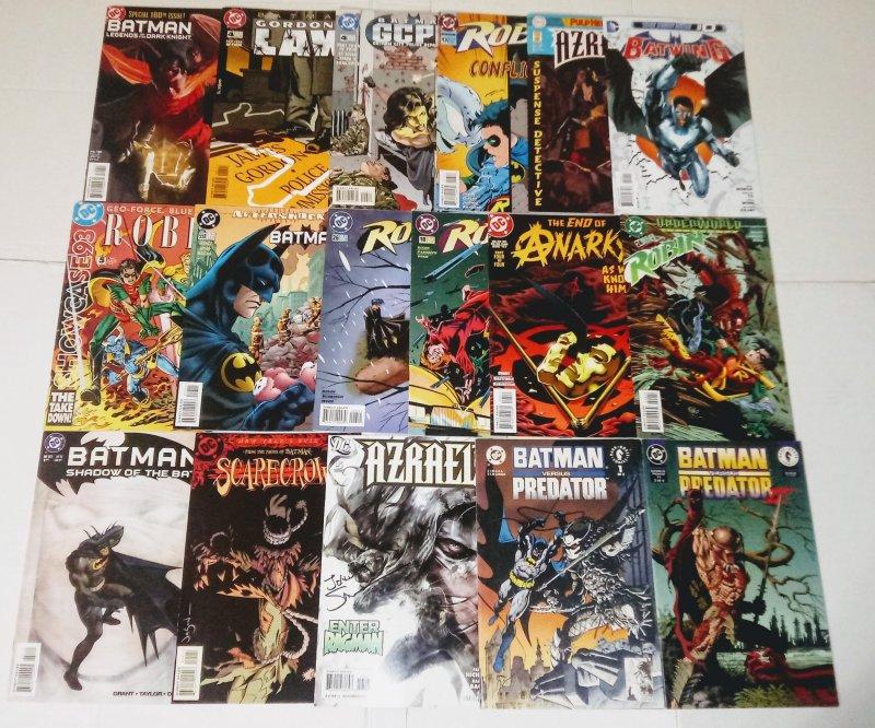 Batman DC Comic Book Lot of (17) see more comic lots in store! B-6/01