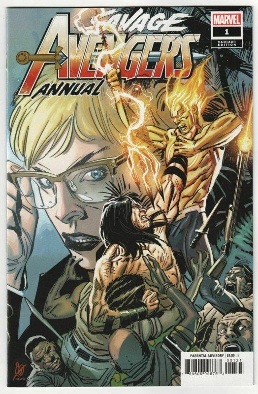 NM Marvel Comics SAVAGE AVENGERS #11