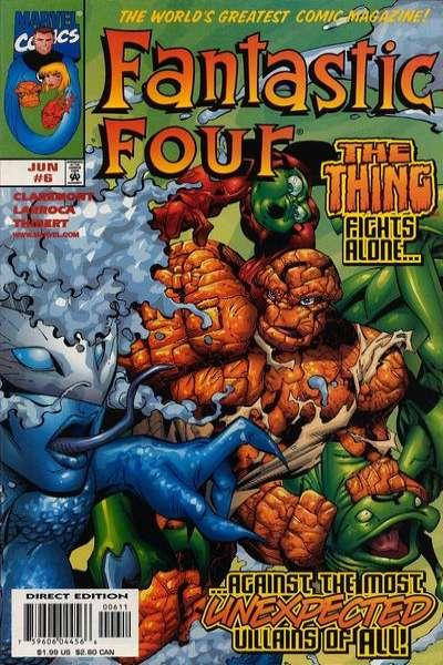 Fantastic Four (1998 series) #6, NM + (Stock photo)