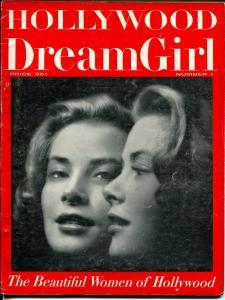 Hollywood DreamGirl #1 1950's 1st issue-Marilyn-Jayne-Mamie Van Doren-VG