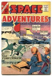 Space Adventures #56 1964- Fisherman of Jupiter G
