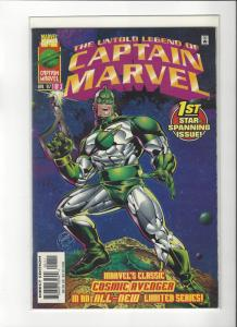 Untold Legend Of Captain Marvel #1 Marvel Comics NM