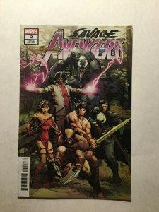 Savage Avengers 2 Near Mint Nm Deodato Variant Marvel