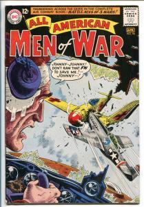 ALL-AMERICAN MEN OF WAR #96-1963-DC-SILVER AGE-BATTLE ACES OF 3 WARS-HEATH-vg