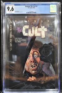 Batman: The Cult #3 (DC, 1988) CGC 9.6