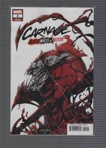 Carnage Black White And Blood #4 Variant