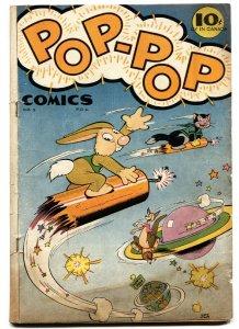 Pop-Pop #1 Wild violent and racist cartoons-Golden-Age comic 1945
