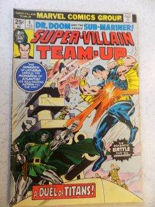 SUPER-VILLAIN TEAM-UP # 4