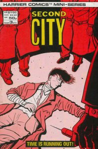 Second City #3 VF/NM; Harrier | save on shipping - details inside
