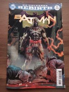 Batman (2016) (V3) #22 Lenticular Variant (9.2)
