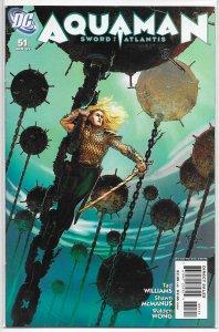Aquaman  : Sword of Atlantis   #51 FN