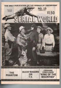 Serial World #15 1978-The Phantom-Buck Rogers-limited distribution-FN