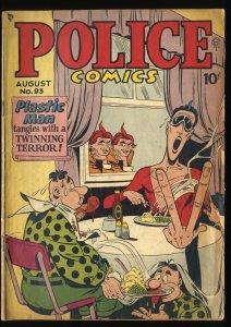 Police Comics #93 GD+ 2.5 Plastic Man Scarce!