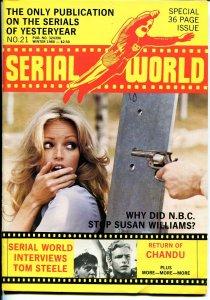 Serial World #21 1980-Return of Chandu-Buck Rogers-Tom Steele-FN/VF