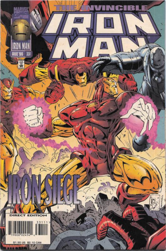 Iron Man (1st Series) #331 VF/NM Marvel - save on shipping - details inside