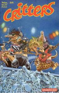 Critters #35 FN; Fantagraphics | save on shipping - details inside