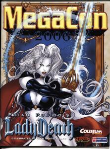 Mega Con Program Book 2006-Lady Death cover