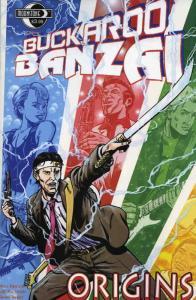Buckaroo Banzai: Origins #1A VF/NM; Moonstone   save on shipping - details insid