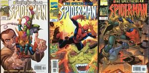 SPECTACULAR SPIDER-MAN MARVEL #259-261 GOBLIN AT THE GATE #1,#2,#3 VF/NM CONDIT.