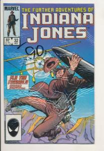Further Adventures of Indiana Jones #32 F/VF (7.0) Marvel Comics (512J)