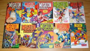 Megaton Man #1-10 VF/NM complete series DON SIMPSON kitchen sink comix 1984