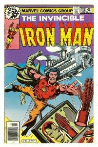 Iron Man 118   1st Jim Rhodes