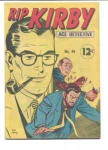 RIP KIRBY ACE DETECTIVE #46-1968-GUN FIGHT VF
