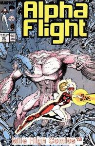 ALPHA FLIGHT (1983 Series)  #56 Very Fine Comics Book