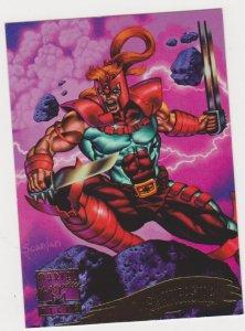 1995 Marvel Masterpieces #144 Shatterstar