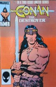 Conan the Destroyer #1 (1985)
