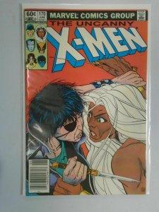Uncanny X-Men #170 Newsstand edition 7.0 FN VF (1983 1st Series)