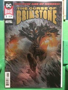 The Curse of Brimstone #7 New DC Universe metallic cover