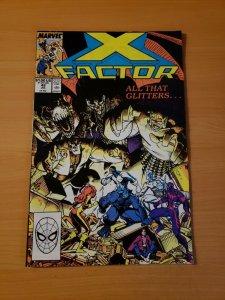 X-Factor #42 Direct Market Edition ~ NEAR MINT NM ~ (1989, Marvel Comics)