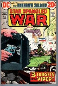 STAR SPANGLED WAR STORIES #167-1973-DC WAR COMIC-BRONZE AGE-VG VG