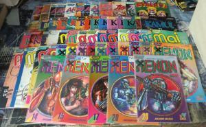 Eclipse Manga Mega-Lot! 59 books- Area 88, Kamui, Appleseed, Mai, Xenon,Cyber 7!