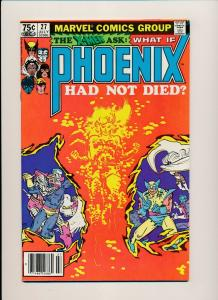 Marvel The X-MEN ask: WHAT IF PHOENIX had not died #27 1981 VERY FINE (PF585)