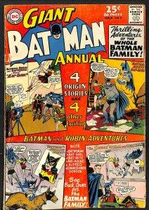 Batman Annual #7 GD/VG 3.0