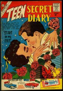 Teen Secret Diary #7 1960- Charlton Romance- Have Gun will Travel VG/F
