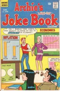 ARCHIES JOKE BOOK (1954-1982)149 VG-F June 1970 COMICS BOOK