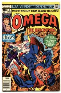 OMEGA THE UNKNOWN #8-1st FOOLKILLER-comic book VG-