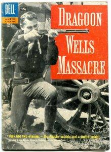 Dragoon Wells Massacre- Four Color #815 1957- 15 cent cover VG-