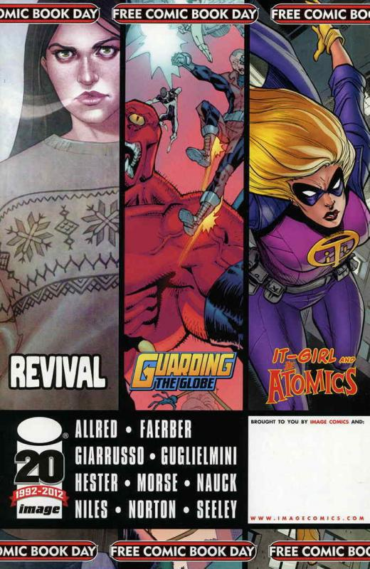 Free Comic Book Day (Image) FCBD #2012 VF/NM Image - 1st Revival (not stamped)