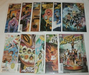 New Mutants (vol. 4,2020) #1-11 Garron (set of 11) Hickman/Brisson/Reis/Flaviano