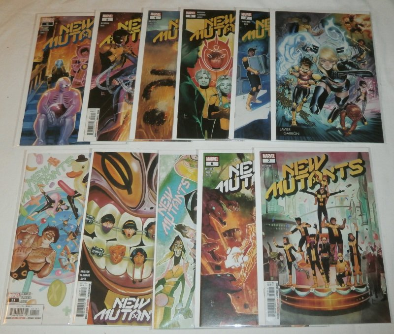 New Mutants (vol. 4,2020) #1-11 Garron (set of 11) Hickman/Brisson/Reis/Flaviano